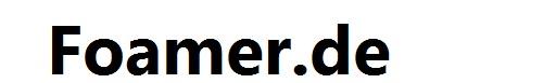Foamer.de-Logo